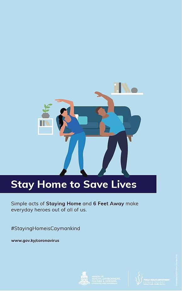 StayHome_Exercise_Poster image