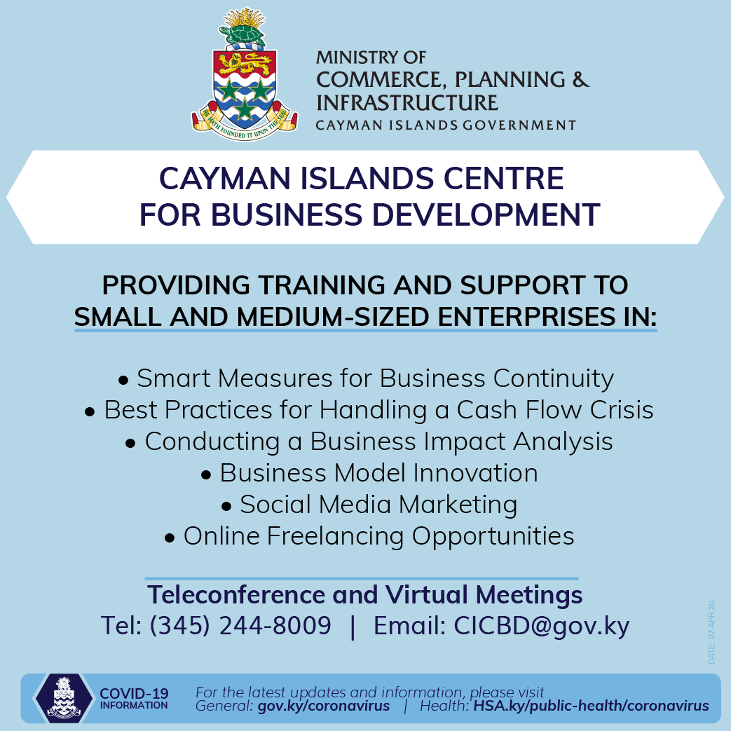 Training at Centre for Business Development 25 March